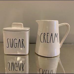 Rae Dunn Cream & Sugar Set